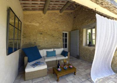 ikigai, maison principale, chambre souffle d'allégresse, terrasse avec accès piscine